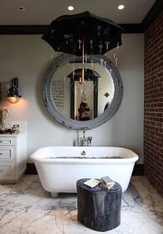 Awesome Country Mirror Bathroom Decor Ideas 34