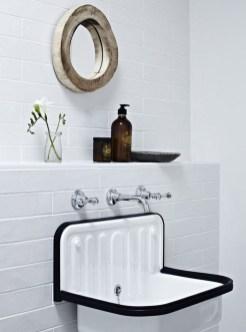 Awesome Country Mirror Bathroom Decor Ideas 36