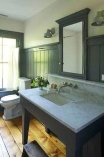 Awesome Country Mirror Bathroom Decor Ideas 42