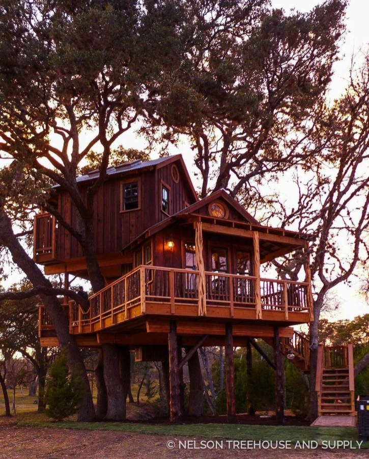 Awesome Treehouse Masters Design Ideas Will Make Dream 04