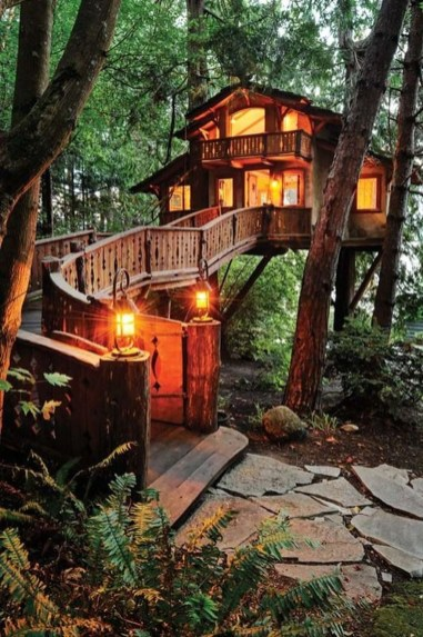 Awesome Treehouse Masters Design Ideas Will Make Dream 27