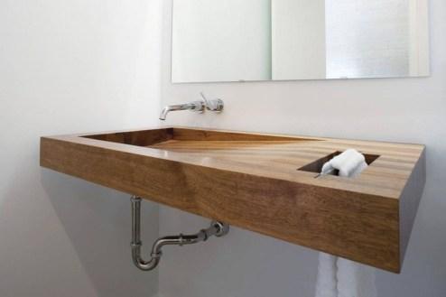 Cozy Wooden Bathroom Designs Ideas 11