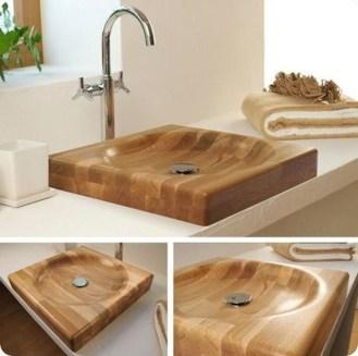 Cozy Wooden Bathroom Designs Ideas 17