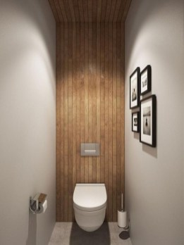 Cozy Wooden Bathroom Designs Ideas 24
