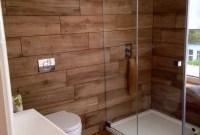 Cozy Wooden Bathroom Designs Ideas 33