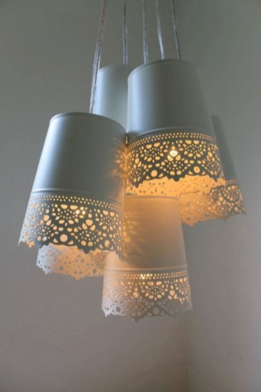 Creative Diy Chandelier Lamp Lighting 42
