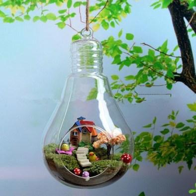 Creative Hanging Air Plants Decor Ideas 08
