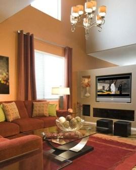Elegant Living Room Colour Ideas 41