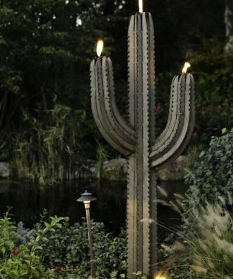 Fantastic Rustic Garden Light Landscaping Ideas 05
