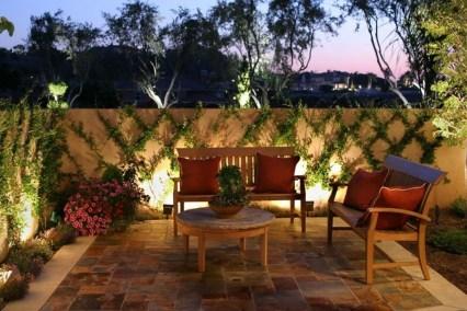 Fantastic Rustic Garden Light Landscaping Ideas 09
