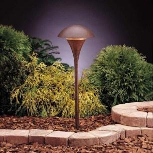 Fantastic Rustic Garden Light Landscaping Ideas 26
