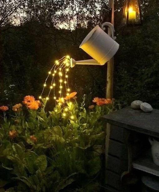 Fantastic Rustic Garden Light Landscaping Ideas 29