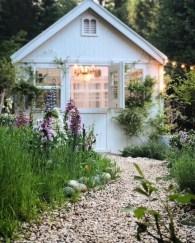 Fantastic Rustic Garden Light Landscaping Ideas 33