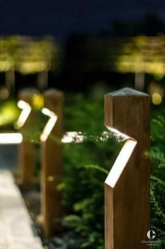Fantastic Rustic Garden Light Landscaping Ideas 38