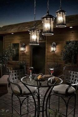 Fantastic Rustic Garden Light Landscaping Ideas 44