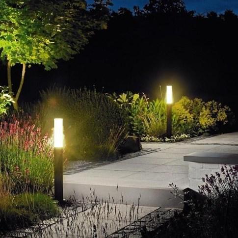 Fantastic Rustic Garden Light Landscaping Ideas 46