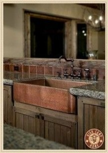 Gorgeous Rustic Country Style Kitchen Made By Wood 10