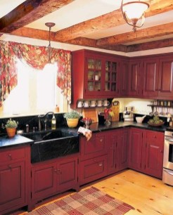 Gorgeous Rustic Country Style Kitchen Made By Wood 14