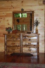 Gorgeous Rustic Country Style Kitchen Made By Wood 26