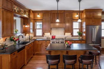 Gorgeous Rustic Country Style Kitchen Made By Wood 35
