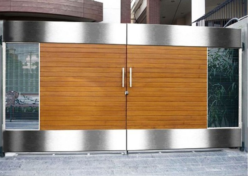 Inspiring Modern Home Gates Design Ideas 15