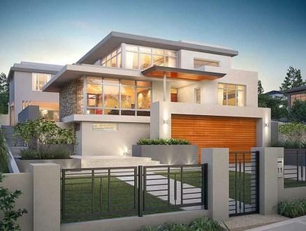 Inspiring Modern Home Gates Design Ideas 22