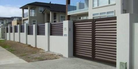 Inspiring Modern Home Gates Design Ideas 32