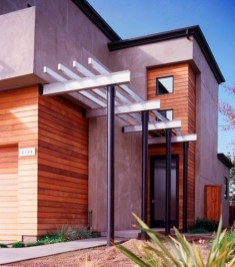 Inspiring Modern Home Gates Design Ideas 43