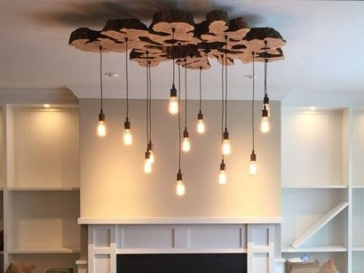 Inspiring Rustic Hanging Bulb Lighting Decor Ideas 13