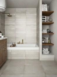 Inspiring Rustic Small Bathroom Wood Decor Design 13