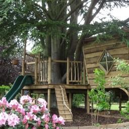 Inspiring Simple Diy Treehouse Kids Play Ideas 04