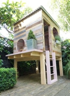 Inspiring Simple Diy Treehouse Kids Play Ideas 20