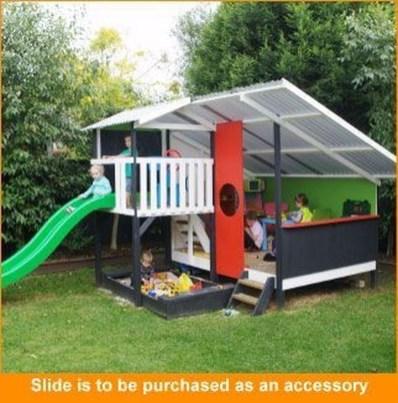 Inspiring Simple Diy Treehouse Kids Play Ideas 26