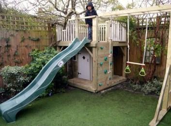 Inspiring Simple Diy Treehouse Kids Play Ideas 28