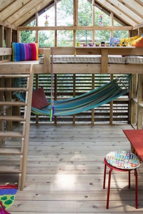 Inspiring Simple Diy Treehouse Kids Play Ideas 35