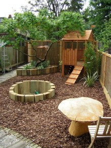 Inspiring Simple Diy Treehouse Kids Play Ideas 39