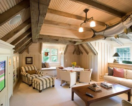 Lovely Traditional Attic Ideas 01