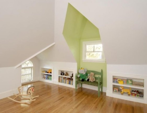 Lovely Traditional Attic Ideas 08