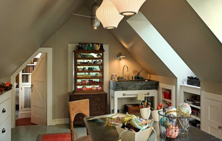 Lovely Traditional Attic Ideas 12