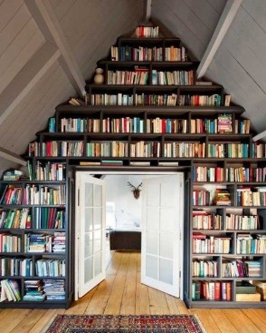 Lovely Traditional Attic Ideas 19