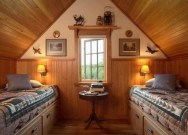 Lovely Traditional Attic Ideas 38