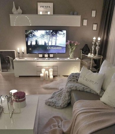Lovely And Cozy Livingroom Ideas 30