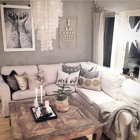 Lovely And Cozy Livingroom Ideas 46
