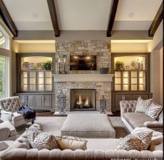 Lovely And Cozy Livingroom Ideas 67