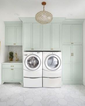 Modern Basement Remodel Laundry Room Ideas 25