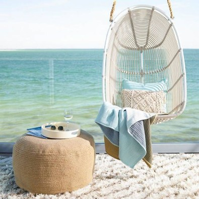 Modern Hanging Swing Chair Stand Indoor Decor 06