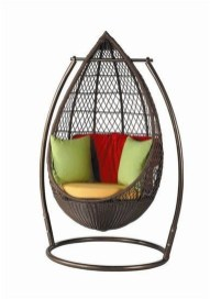 Modern Hanging Swing Chair Stand Indoor Decor 12