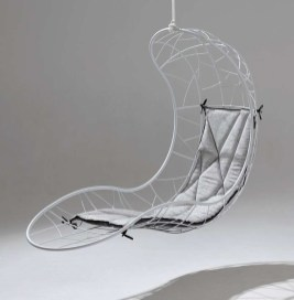Modern Hanging Swing Chair Stand Indoor Decor 14