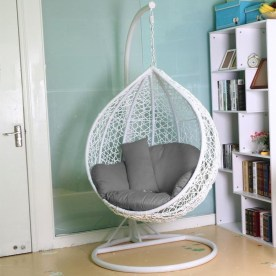 Modern Hanging Swing Chair Stand Indoor Decor 24