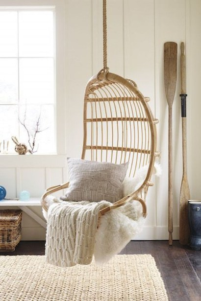 Modern Hanging Swing Chair Stand Indoor Decor 28